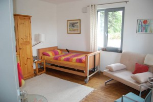 Das Gästezimmer in der Villa Emma